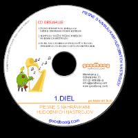 CD Piesne s nahrávkami hudobných nástrojov 1.diel