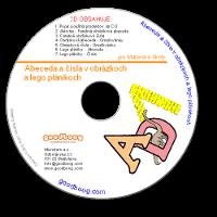 CD Abeceda a čísla v obrázkoch a lego plánikoch