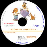 CD Rozprávky v obrázkoch 2.diel