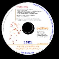 CD Piesne s nahrávkami hudobných nástrojov 2.diel