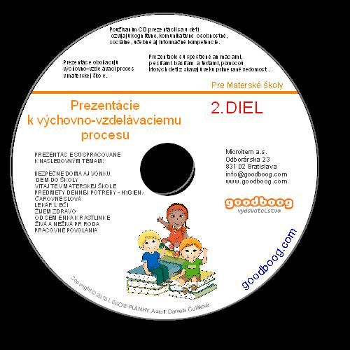 CD Prezentácie k výchovno-vzdelávaciemu procesu 2. Diel