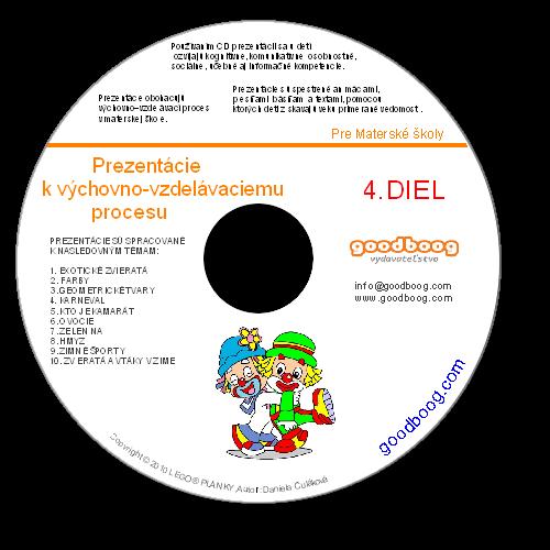 CD Prezentácie k výchovno-vzdelávaciemu procesu 4. Diel